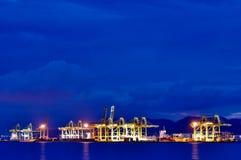 Puerto de Penang Fotos de archivo libres de regalías