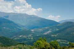Puerto de Perves Pyrenees royalty free stock image