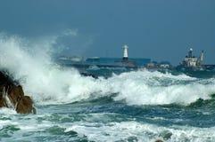 Puerto de Peterhead Foto de archivo libre de regalías