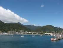 Puerto de Picton Imagen de archivo
