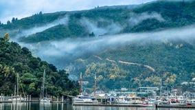 Puerto de Picton Fotografía de archivo libre de regalías