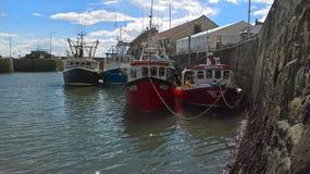 Puerto de Pittenweem Imagen de archivo