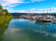 Puerto de Port Douglas Fotos de archivo