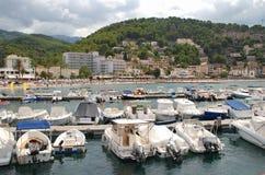 Puerto de Port de Soller, Majorca Imagen de archivo libre de regalías