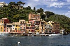 Puerto de Portofino, Italia Imagen de archivo libre de regalías