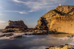 Puerto de Portreath Fotos de archivo libres de regalías