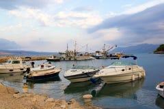 Puerto de Promajna Imagen de archivo