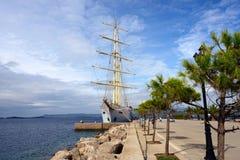 Puerto de Pylos Foto de archivo libre de regalías