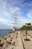 Puerto de Pylos Imagenes de archivo