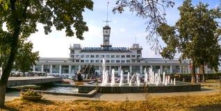Puerto de Resny en Nizhny Novgorod Foto de archivo libre de regalías