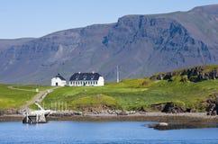 Puerto de Reykjavik Imagenes de archivo