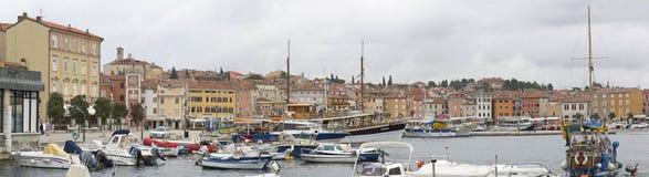 Puerto de Rovinj Imágenes de archivo libres de regalías