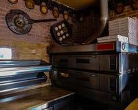 Puerto DE Sagunto, Spanje 02/14/19: Pizzaoven stock foto