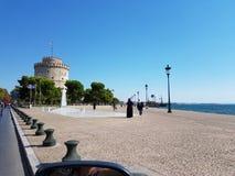 Puerto de Salónica Foto de archivo libre de regalías
