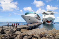 Puerto de San Jorge s en Grenada imagen de archivo libre de regalías
