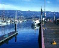 Puerto de Santa Barbara Fotos de archivo libres de regalías