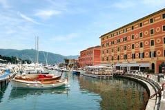 Puerto de Santa Margherita Fotos de archivo