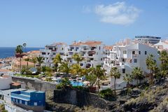 Puerto de Santiago, in Tenerife Royalty Free Stock Photo