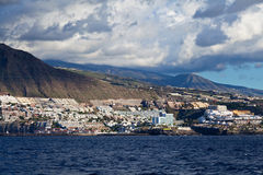 Puerto de Santiago View, Tenerife Royalty Free Stock Images