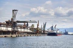 Puerto de Santos fotografía de archivo libre de regalías