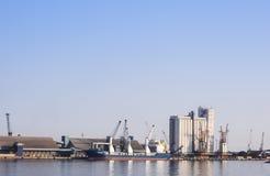 Puerto de Savona Imagen de archivo