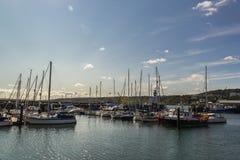 Puerto de Scarborough fotos de archivo libres de regalías