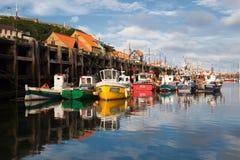 Puerto de Scarborough fotografía de archivo libre de regalías