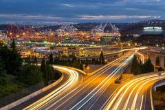 Puerto de Seattle Imagen de archivo