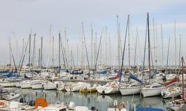 Puerto de Senigallia Fotografía de archivo