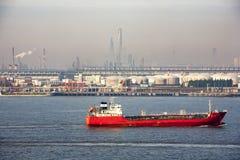 Puerto de Shangai Imágenes de archivo libres de regalías
