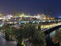 Puerto de Singapur Imagen de archivo libre de regalías
