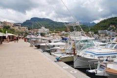 Puerto de Puerto de Soller, Majorca Fotos de archivo