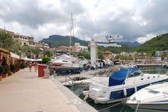 Puerto de Puerto de Soller, Majorca Imagenes de archivo