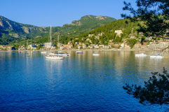 Puerto De Soller, Majorca Photographie stock libre de droits