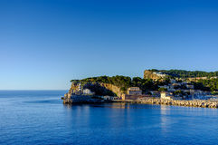 Puerto de Soller, Majorque Photos libres de droits