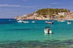 Puerto DE Soller Marina, Mallorca royalty-vrije stock foto's
