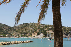 Puerto de Soller Port of Mallorca Royalty Free Stock Photography