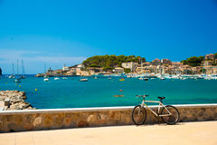 Puerto de Soller, Port of Mallorca island Royalty Free Stock Images