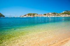 Puerto de Soller, Port of Mallorca island Stock Photos
