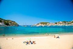Puerto de Soller, Port of Mallorca island Stock Image