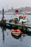 Puerto de Sonderborg, Dinamarca imagenes de archivo