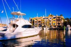 Puerto de Sotogrande fotografía de archivo libre de regalías