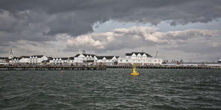 Puerto de Southampton Imágenes de archivo libres de regalías