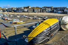 Puerto de St Ives Imágenes de archivo libres de regalías