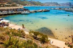 Puerto de St James South Africa Foto de archivo libre de regalías
