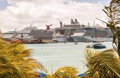 Puerto de St Maarten Foto de archivo libre de regalías