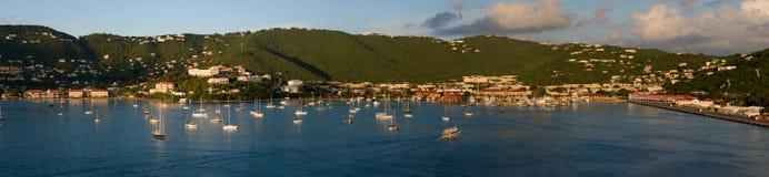 Puerto de St-Thomas Foto de archivo