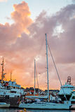 Puerto de Stavanger Foto de archivo