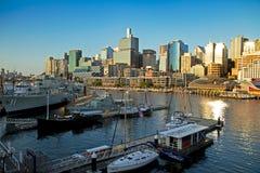 Puerto de Sydney Fotografía de archivo libre de regalías