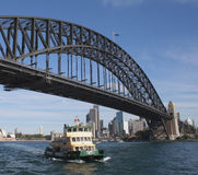 Puerto de Sydney Imagen de archivo